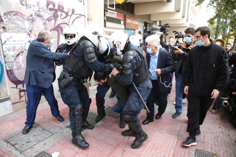 Επεισόδια και προσαγωγές στο κέντρο της Αθήνας