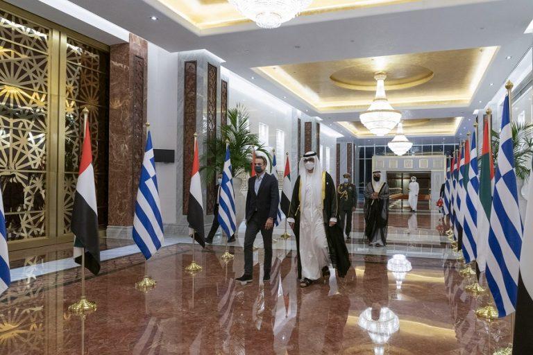 Μητσοτάκης στα ΗΑΕ: Σε πρώτο πλάνο εξωτερική πολιτική, άμυνα και επενδύσεις