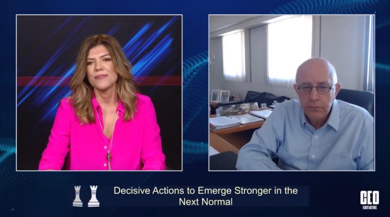 CEO Initiative 2020: O Σπύρος Θεοδωρόπουλος εξηγεί γιατί οι επιχειρήσεις πρέπει να βρίσκονται κάθε μέρα στην πρώτη γραμμή