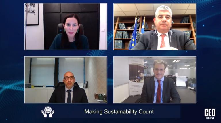 CEO Initiative 2020: Ο ρόλος της βιώσιμης ανάπτυξης στον πυρήνα των επιχειρήσεων