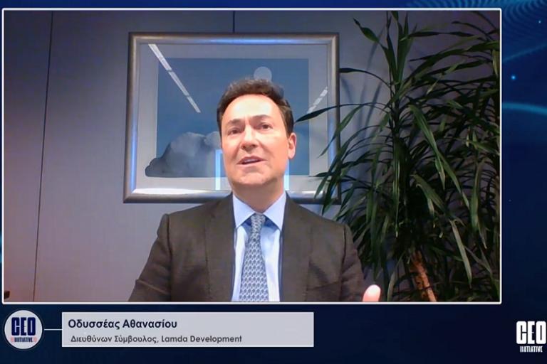 Οδυσσέας Αθανασίου στο CEO Initiative 2020: Το πρώτο δίμηνο του 2021 η υπογραφή της σύμβασης για το Ελληνικό
