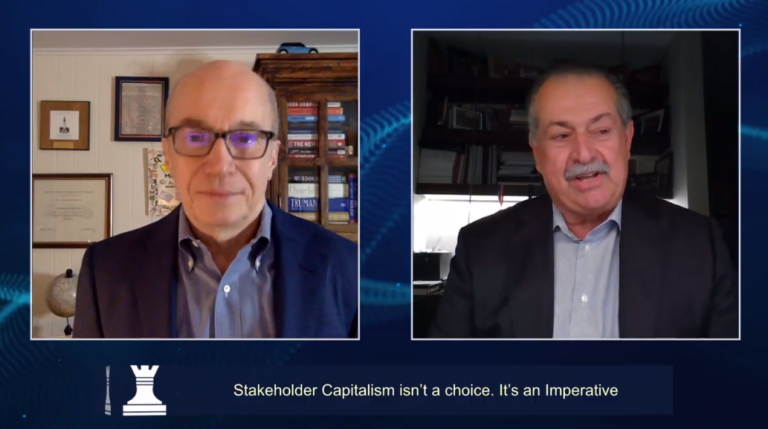 CEO Initiative 2020: Andrew Liveris και Alan Murray μιλούν για τον νέο καπιταλισμό των ενδιαφερομένων μερών