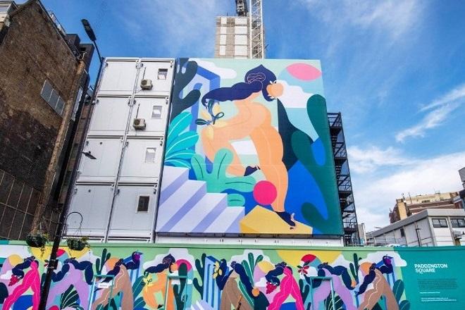 «Nurture Nature»: Ένα μοναδικό έργο τέχνης γύρω από εργοτάξιο στην Paddington Square στο Λονδίνο