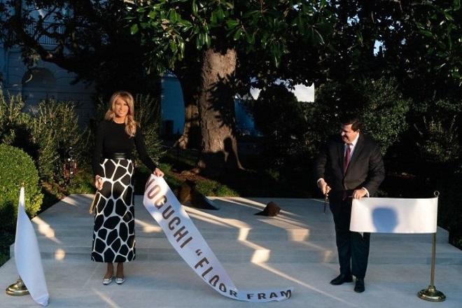 Αυτή είναι η τελευταία εικαστική παρέμβαση της Μελάνια στον Λευκό Οίκο