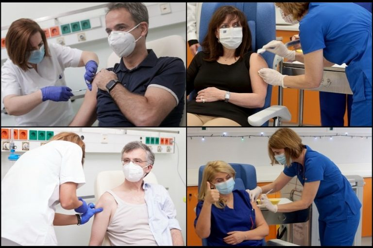 Covid-19 «ώρα μηδέν»: Οι πρώτοι εμβολιασμοί στη χώρα μας είναι γεγονός