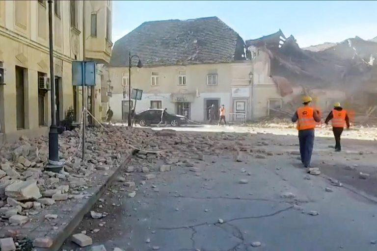 Τεράστιες καταστροφές από το σεισμό στην Κροατία (βίντεο) – Σκοτώθηκε ένα 12χρονο παιδί