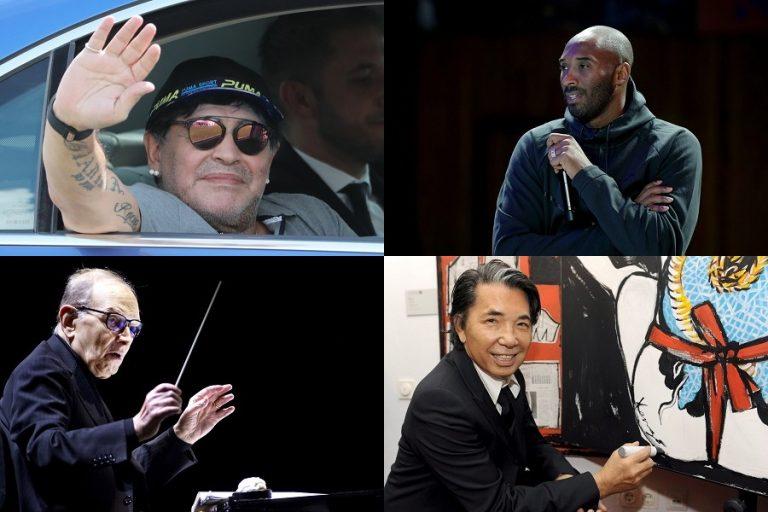 Δέκα σπουδαίες προσωπικότητες που έφυγαν το 2020