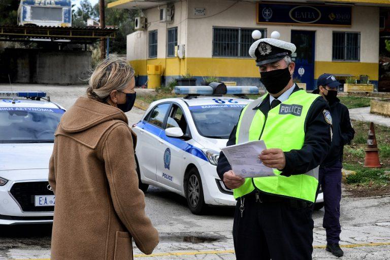 Σαρωτικοί έλεγχοι για τήρηση των μέτρων- 1.659 παραβάσεις και 22 συλλήψεις