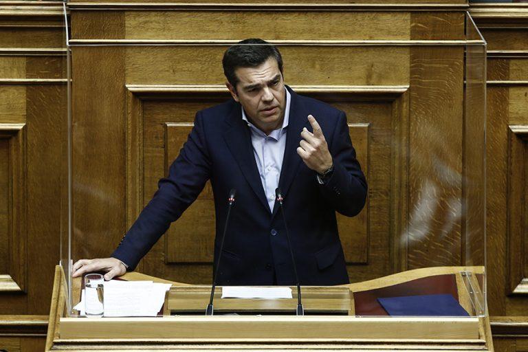 Τσίπρας στη Βουλή: Η κυβέρνηση υπεύθυνη για όσα συμβαίνουν και όσα έρχονται