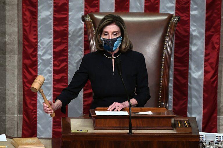 Η αμερικανική βουλή παραπέμπει τον Ντόναλντ Τραμπ για «υποκίνηση στάσης»