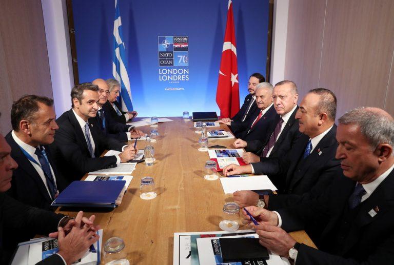 Θετικός ο Ερντογάν για μια συνάντηση με τον Μητσοτάκη- Ξεκινούν οι διερευνητικές