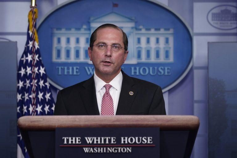Εγκαταλείπουν τον Τραμπ: Παραιτήθηκε και ο υπουργός Υγείας λόγω της εισβολής στο Καπιτώλιο