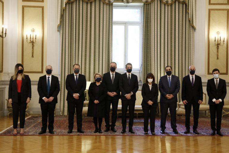 Ολοκληρώθηκε η ορκωμοσία με… δόσεις για τα νέα μέλη της κυβέρνησης