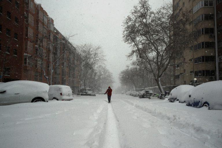 Ο «χιονιάς του αιώνα» χτύπησε τη Μαδρίτη