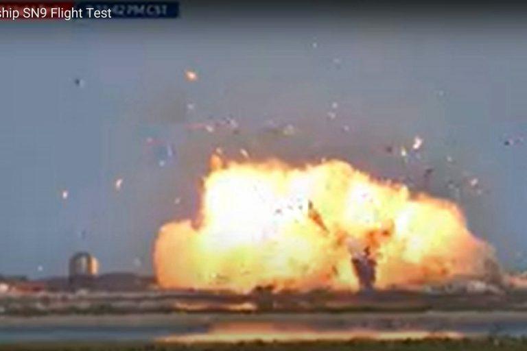 Εξερράγη το Starship της SpaceX μετά από δοκιμαστική εκτόξευση – Απίστευτες εικόνες
