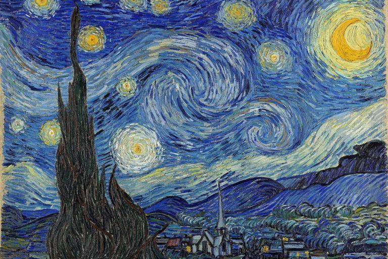 Η «Έναστρη Νύχτα» του Βαν Γκογκ, με 1.552 κυβάκια