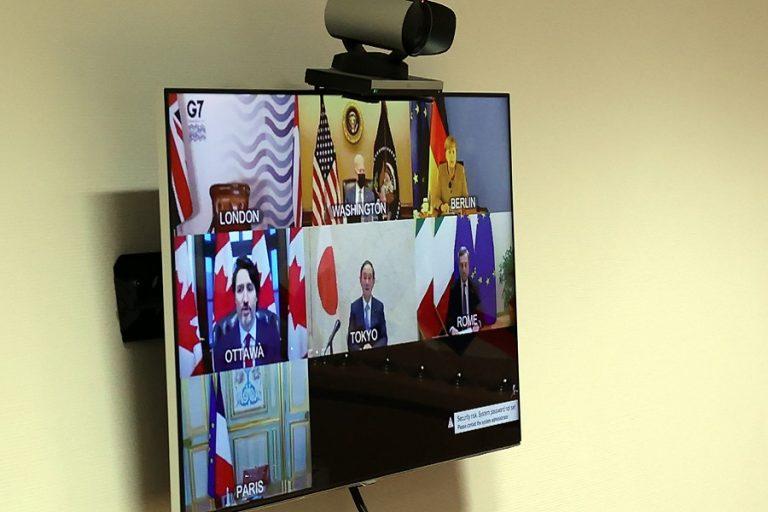 Η G7 δεσμεύτηκε να αυξήσει τη βοήθειά της για τους εμβολιασμούς κατά του Covid-19