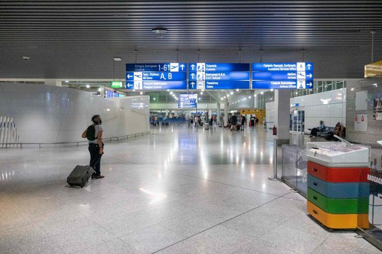 «Βουτιά» 83% έκανε η επιβατική κίνηση στα ελληνικά αεροδρόμια λόγω κορωνοϊού