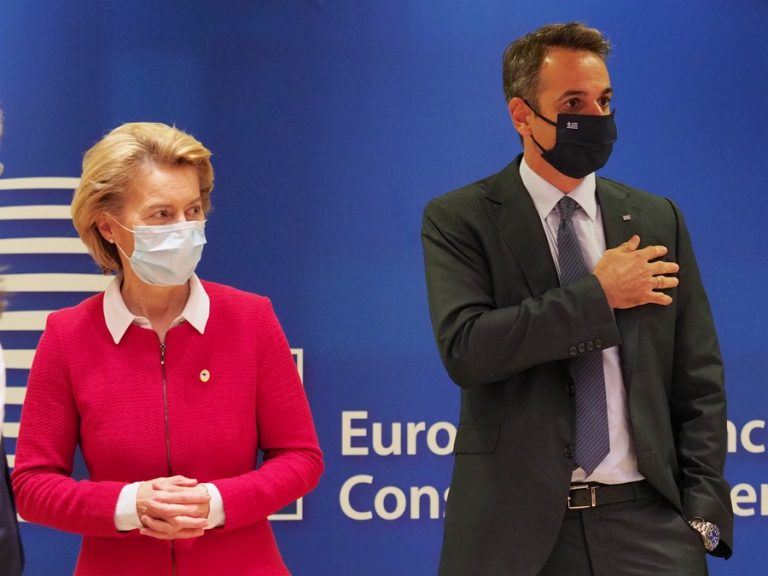 SURE: Επιπλέον 728 εκατ. ευρώ σε δάνεια στην Ελλάδα – Το tweet στα ελληνικά της Ούρσουλα φον ντερ Λάιεν