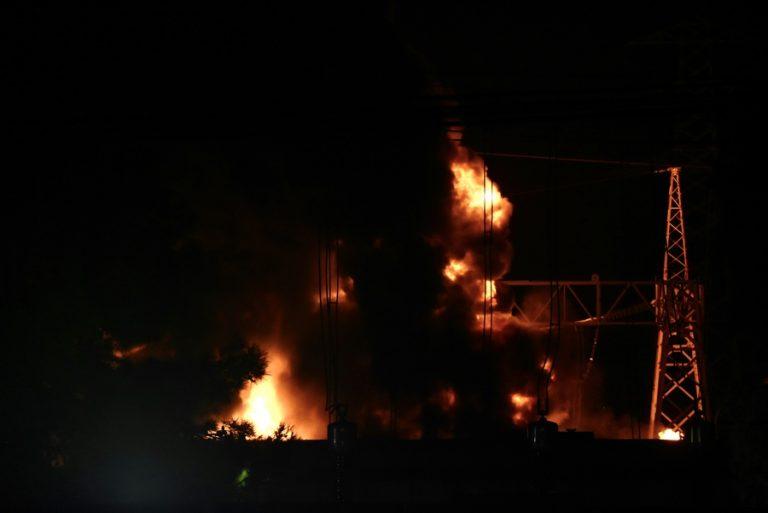 ΥΠΕΝ: Δεν επιβαρύνθηκε η ατμόσφαιρα από την πυρκαγιά στον Ασπρόπυργο