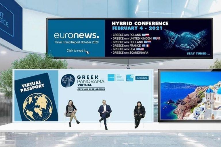 Virtual Greek Panorama: Μια τουριστική πύλη ανοιχτή 365 μέρες το χρόνο!