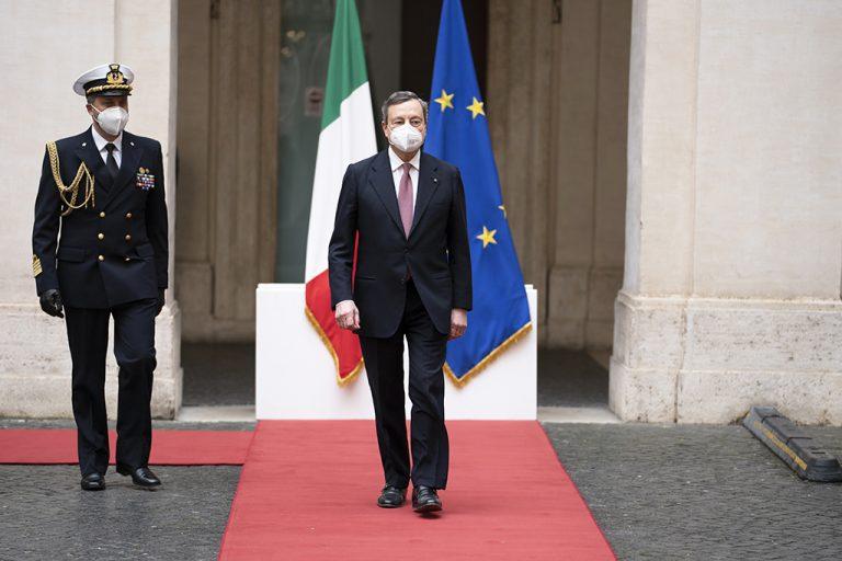 Συγχαρητήρια Κυριάκου Μητσοτάκη στον Μάριο Ντράγκι, ο οποίος ορκίστηκε πρωθυπουργός της Ιταλίας