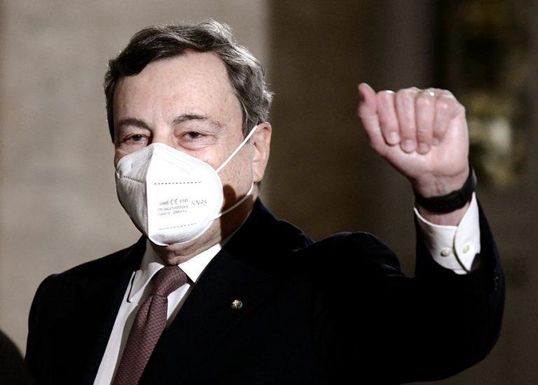 H νέα κυβέρνηση του Μάριο Ντράγκι στην Ιταλία