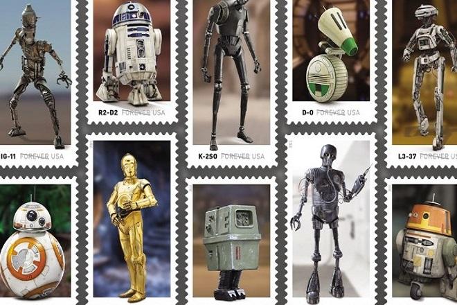 Οι ήρωες του Star Wars γίνονται γραμματόσημα