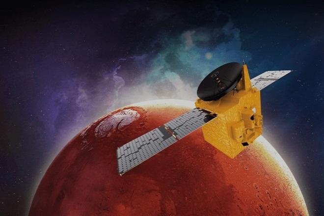 Το πρώτο αραβικό ρομποτικό σκάφος μπήκε σε τροχιά γύρω από τον Άρη