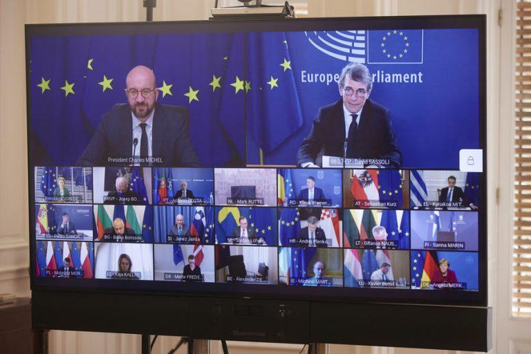 Σύνοδος Κορυφής: Ικανοποίηση της κυβέρνησης από την Κοινή Δήλωση των 27 ηγετών