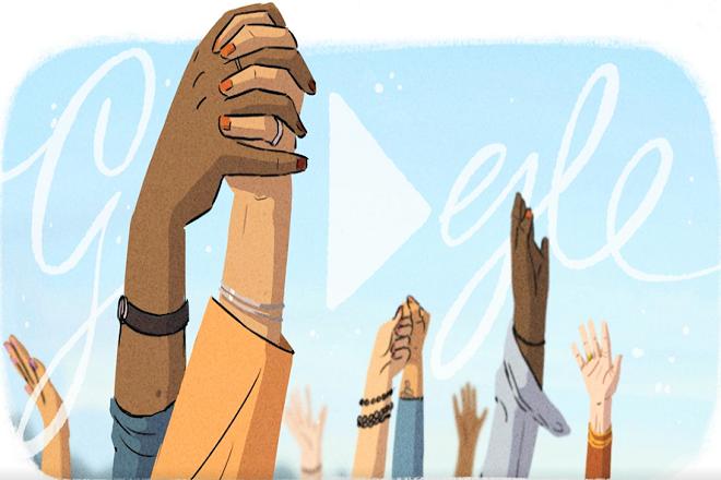 Αφιερωμένο στην Παγκόσμια Ημέρα της Γυναίκας είναι το σημερινό doodle της Google
