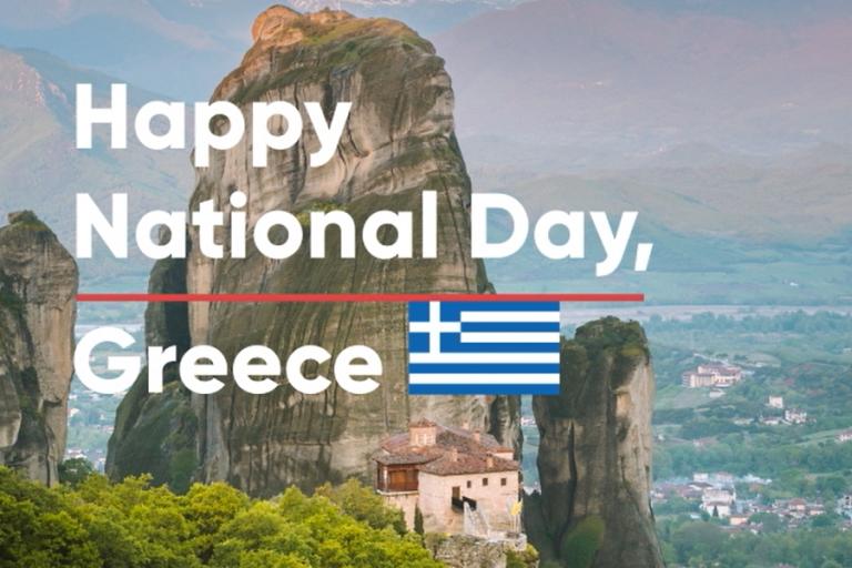 «Χρόνια πολλά Ελλάδα», εύχονται ταΕΕΑ Grantsγια την Εθνική Επέτειο της 25ηςΜαρτίου