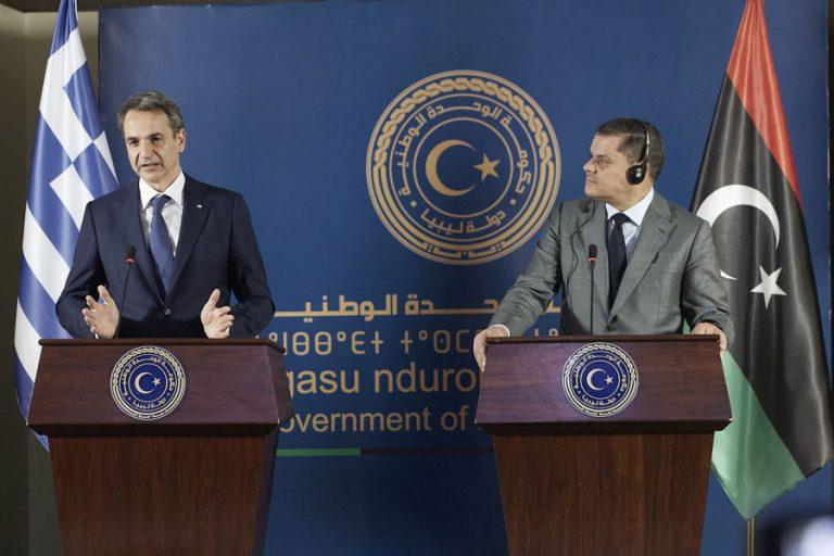 Ο Κυριάκος Μητσοτάκης ζητά την ακύρωση του παράνομου τουρκολιβυκού μνημονίου