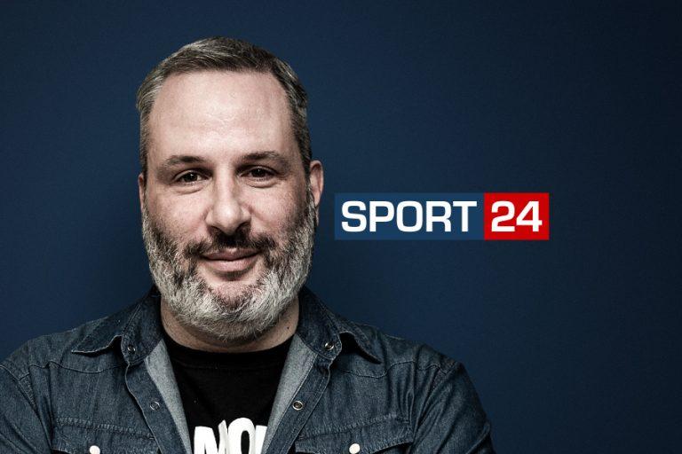 Ο Αντώνης Οικονομίδης στην ομάδα του SPORT 24