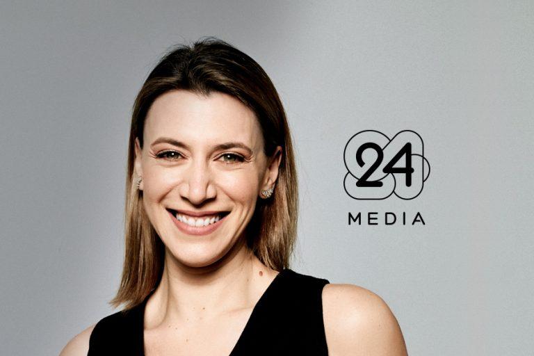 Η Ντέπη Παπάζογλου Group Commercial Director της 24 MEDIA
