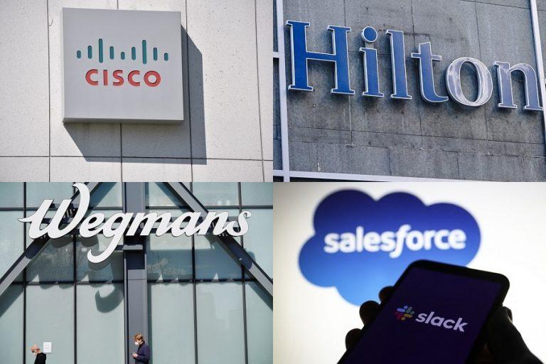 Fortune USA: Οι δέκα καλύτερες εταιρείες για να εργάζεσαι σήμερα