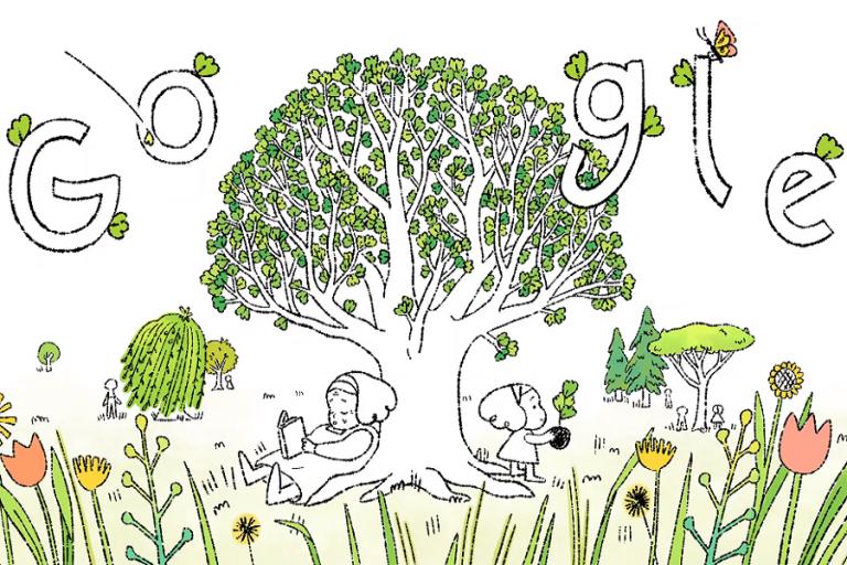 Αφιερωμένο στην Ημέρα της Γης το σημερινό Google Doodle