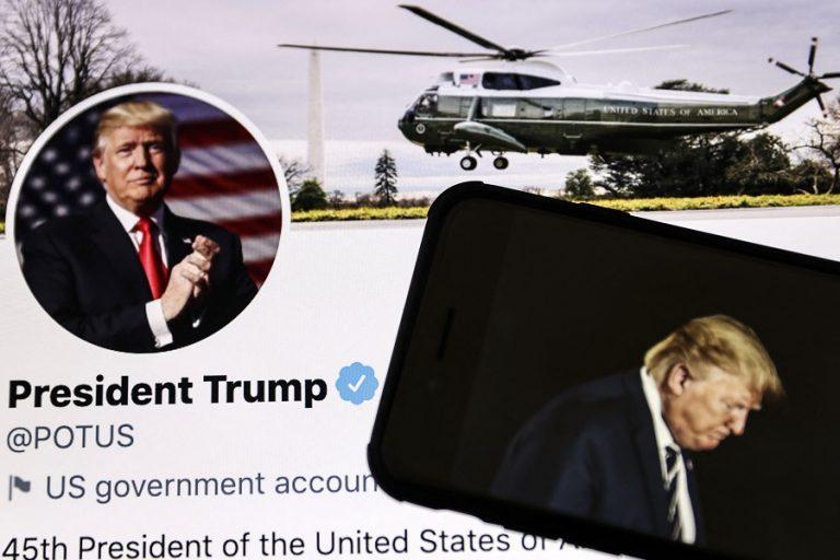 Το Twitter διέγραψε λογαριασμούς γιατί επιχειρούσαν να παρακάμψουν τον αποκλεισμό Τραμπ