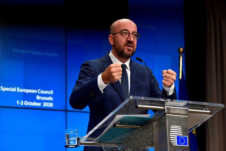Μισέλ: Η ΕΕ συζητά μόνο συγκεκριμένες προτάσεις για την απελευθέρωση της πατέντας των εμβολίων