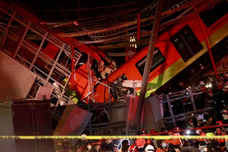 Τραγωδία στο Μεξικό με δεκάδες νεκρούς και τραυματίες σε δυστύχημα στο μετρό