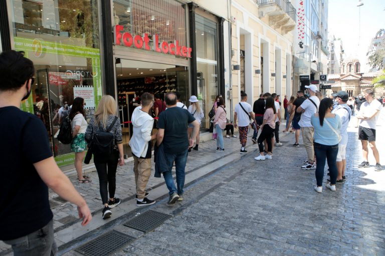 ΕΛΣΤΑΤ: Αύξηση 52% σημείωσε ο τζίρος στο λιανικό εμπόριο τον Απρίλιο