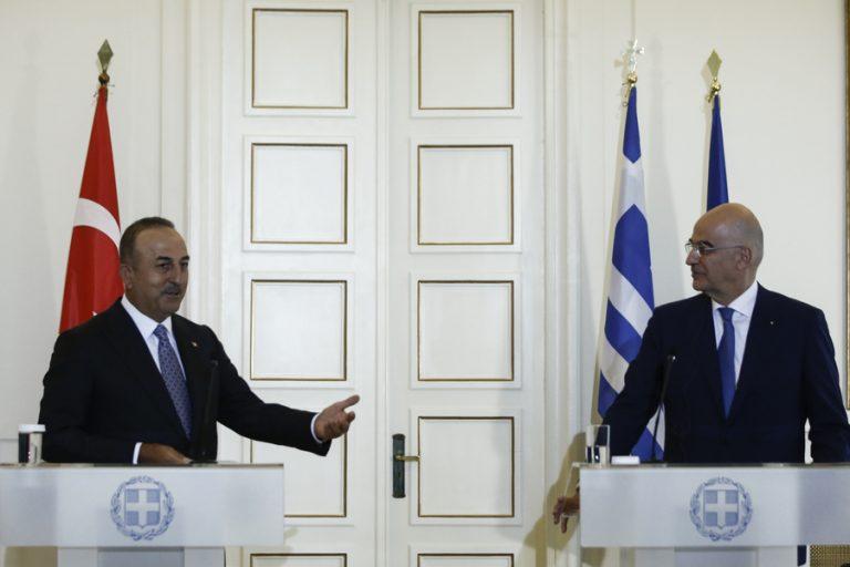 Τι συζήτησαν Δένδιας και Τσαβούσογλου για το μέλλον των ελληνοτουρκικών σχέσεων