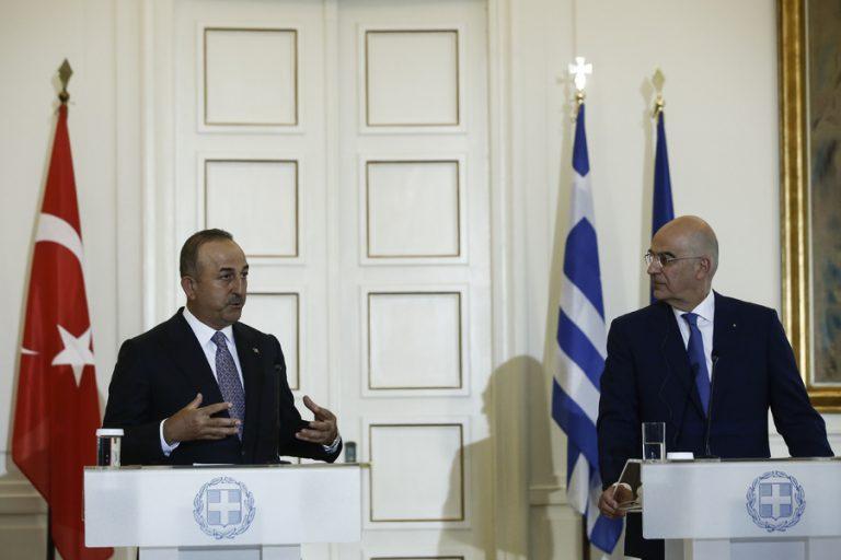 Δένδιας: Το τεράστιο χάσμα Ελλάδας – Τουρκίας επιβεβαιώθηκε ξανά στην επίσκεψη Τσαβούσογλου