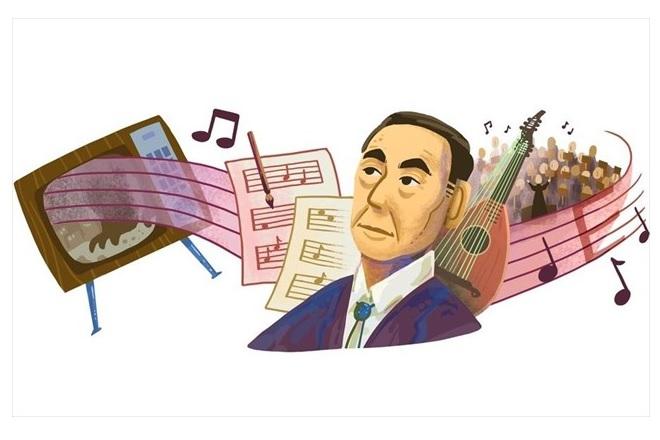 Ακίρα Ιφουκούμπε: H Google τιμά με doodle τον Ιάπωνα συνθέτη της μουσικής του «Godzilla»