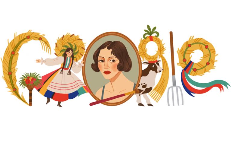 Αφιερωμένο στη Ζόφια Στριγένσκα το σημερινό doodle της Google