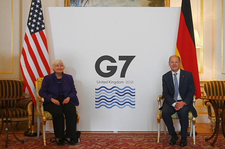 Ένα βήμα πριν μια ιστορική παγκόσμια φορολογική συμφωνία βρίσκονται οι G7