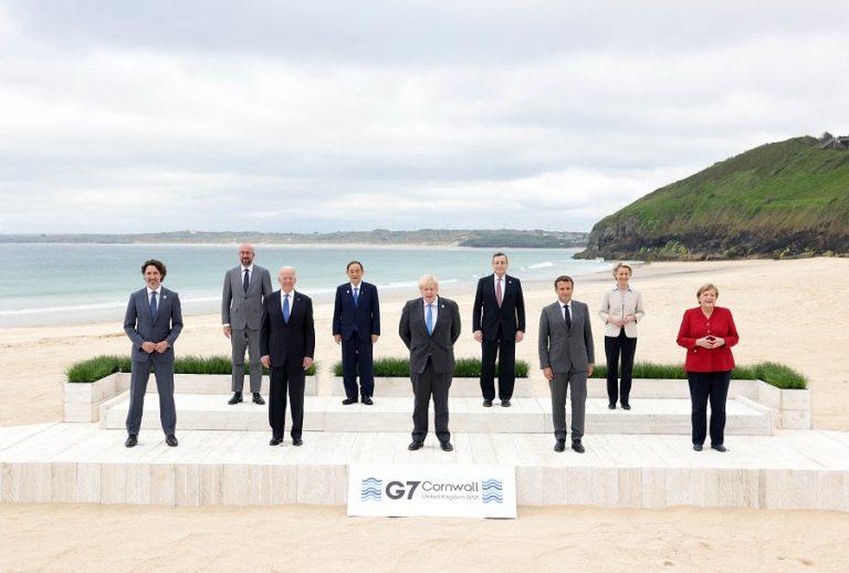 Ιστορική G7: Οι ηγέτες επισφράγησαν τον παγκόσμιο ελάχιστο φόρο 15% στις πολυεθνικές