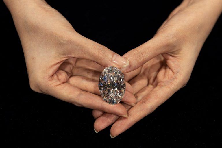 Στο σφυρί από τη Sotheby's σπάνιο διαμάντι σε σχήμα αχλαδιού που μπορεί να αγοραστεί και με κρυπτονομίσματα