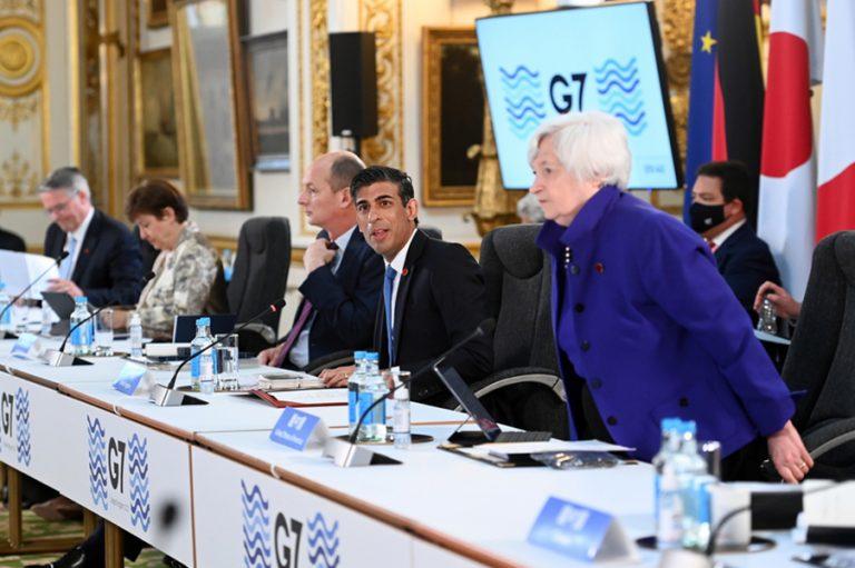 Οι G7 έκαναν την αρχή: Ιστορική συμφωνία για ελάχιστη φορολόγηση 15% σε όλες τις επιχειρήσεις