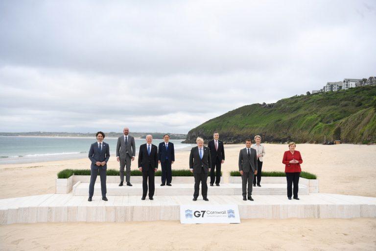 Σόου Τζονσον στην G7: Χαρακτήρισε τη σύνοδο «τσίρκο των ΜΜΕ»